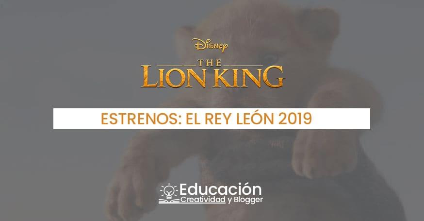donde ver en latino el rey leon 2019 fechas de estreno