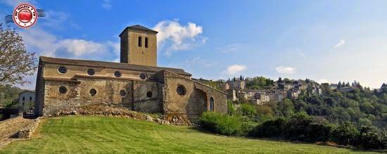 Iglesia de Saissac, en Francia