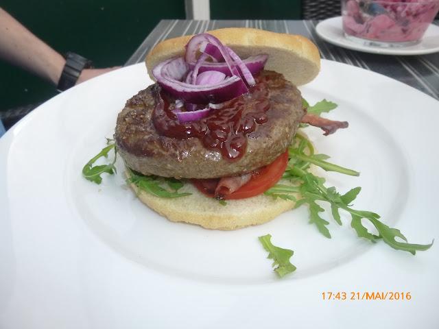 der leckere Watersport Burger