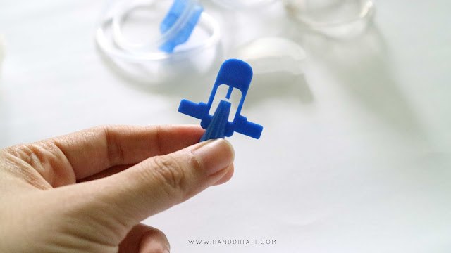 vaporiser head untuk inhalasi