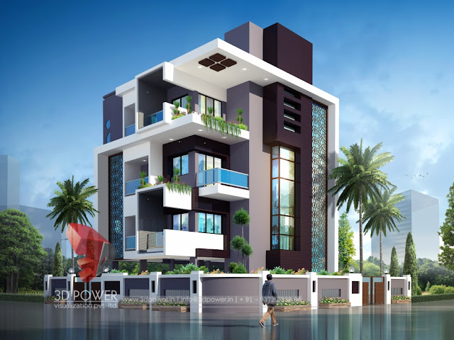 Ultra modern home designs home designs for Modern bungalow elevation