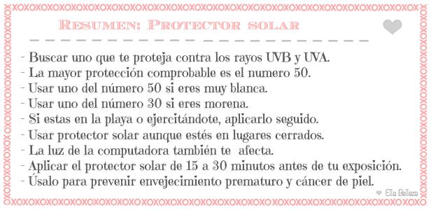 usa protector solar
