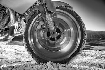 V-Rod aluminum wheels