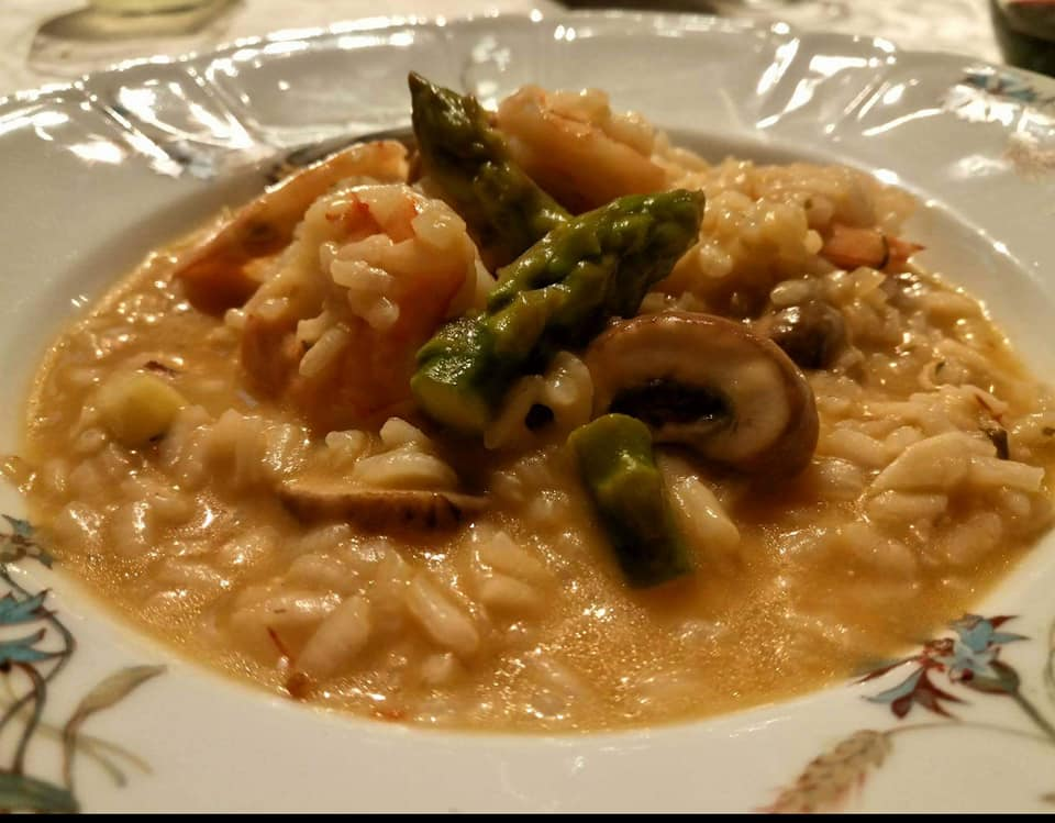 Le Bonheur De La Cuisine Risotto De Camar 227 O Cogumelos E