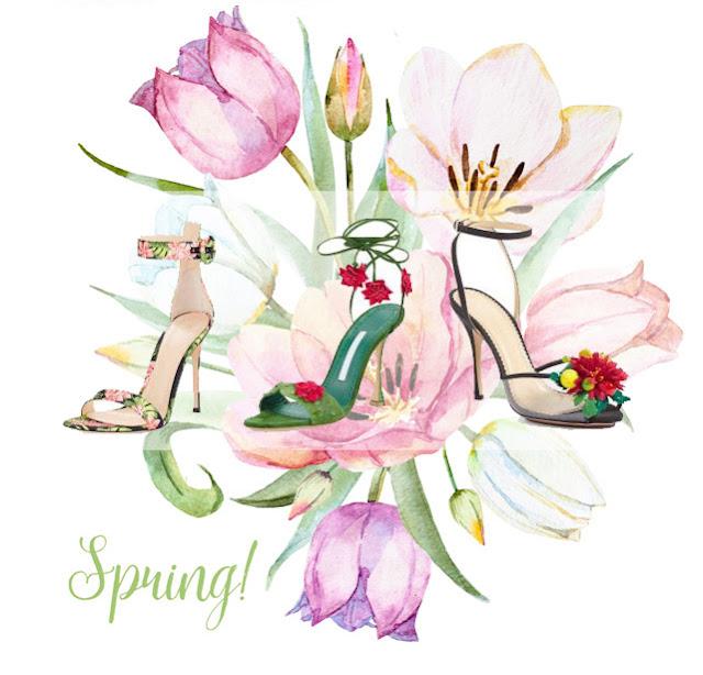 Floral Sandals for Spring