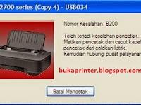 CARA MENGATASI IP2770 ERROR B200