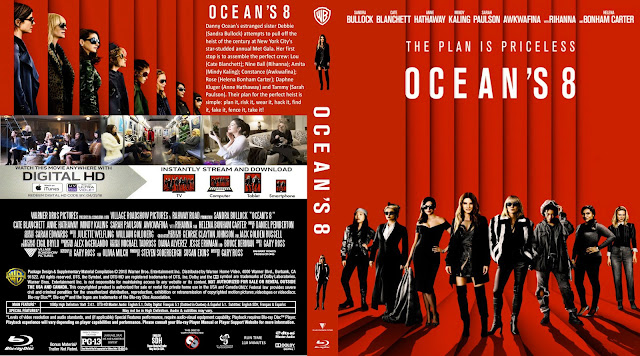 Ocean's 8 Bluray Cover