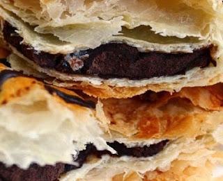 Pastry Pisang Coklat