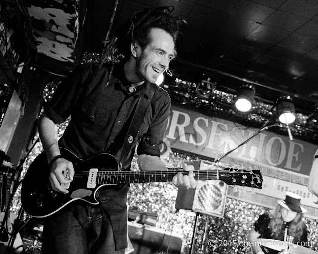 Shred Kelly at The Legendary Horseshoe Tavern in Toronto, December 5, 2015 Photo by John at One In Ten Words oneintenwords.com toronto indie alternative music blog concert photography pictures