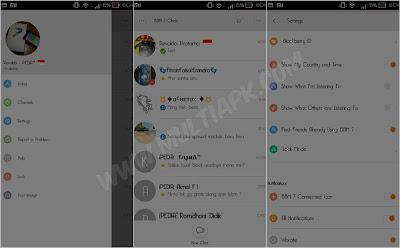 BBM Mod MIUI 7 Style v2.9.0.51 Apk Android