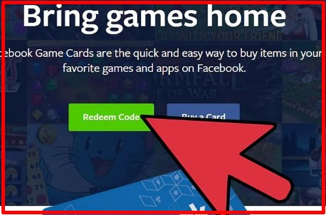 redeem facebook game cards