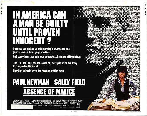 """Absence of Malice"" (1981)"