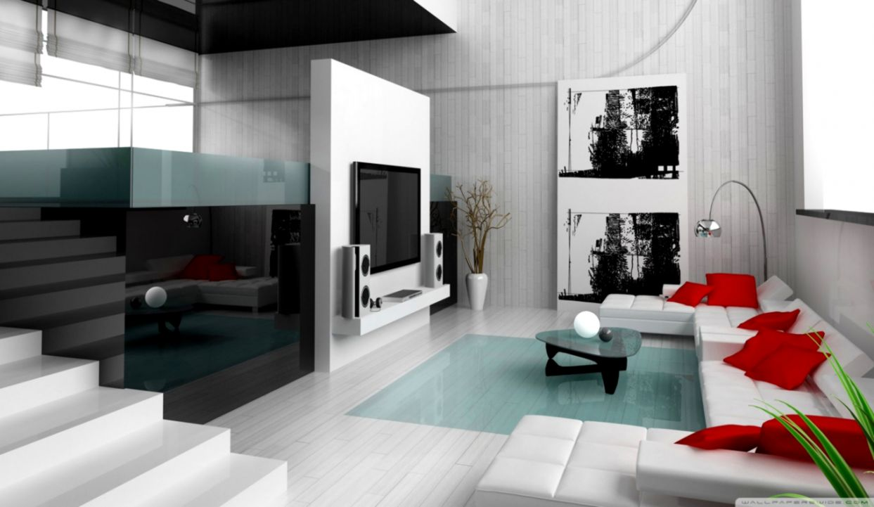 Minimalist Interior Design Hd Desktop Wallpaper High Definition