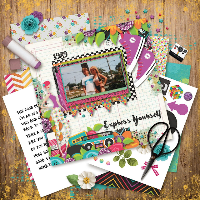 My Muse Printable scrap Kit
