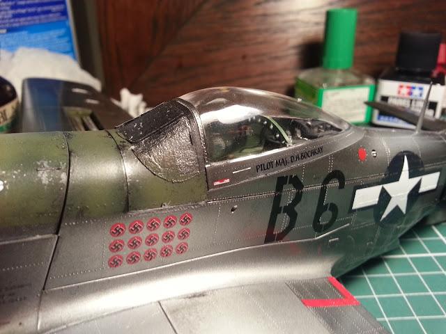 1/32 Hasegawa Mustang canopy