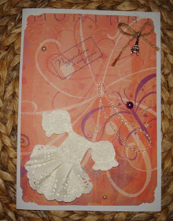 Como decorar una tarjeta con mantel de papel lodijoella - Como decorar una servilleta de papel ...