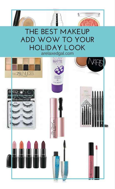 Bring the wow to your holiday makeup looks this year with these 15 products. | @arelaxedgal