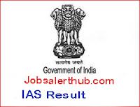 IAS Result