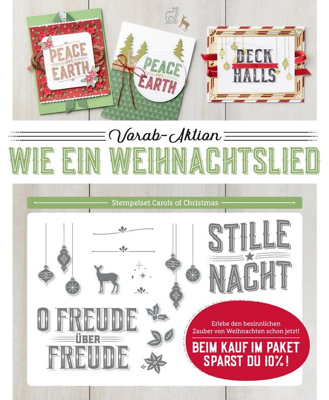 Aktion-Wie ein Weihnachtslied-Stampin Up!