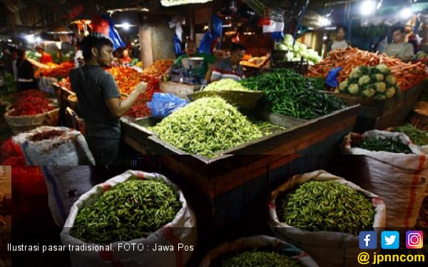 Harga Bahan Pokok di Pasar Mulai Meroket