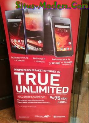 Paket True Unlimited Smartfren Cuma Rp 75 ribu Kecepatan Full Speed Tanpa Kuota, Tapi Ada Syaratnya !!!!