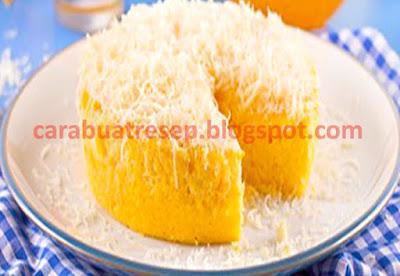 Resep kue bolu nanas kukus taburan keju spesial