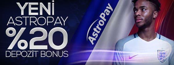 Odeonbet yüzde 20 Astropay Depozit Bonusu