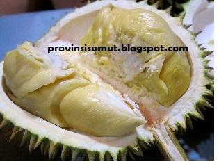 Pada Bulan Agustus desember musim Durian di Medan