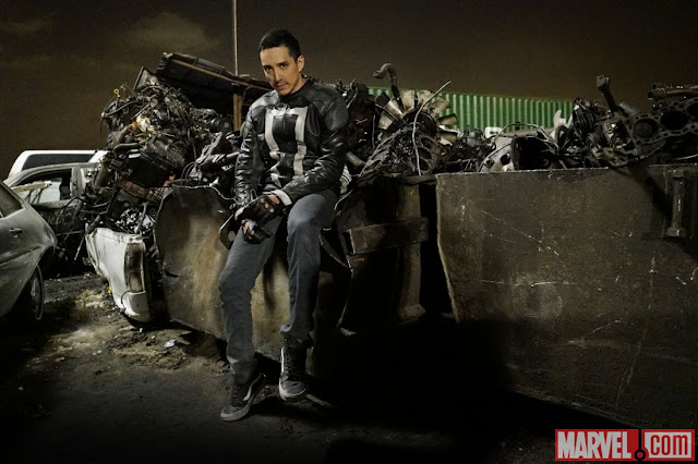 ghost rider agentes de shield