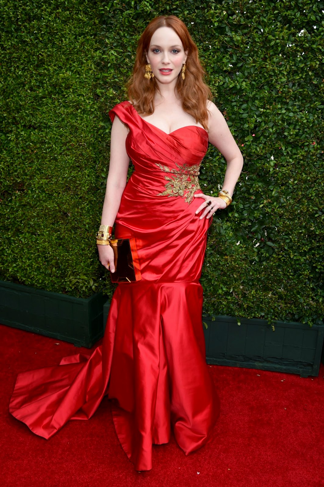 Christina Hendricks – 2014 Primetime Emmy Awards in Los Angeles