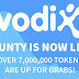 VodiX Airdroping 120 VDX Value $12 / 180,000 IDR [No KYC]