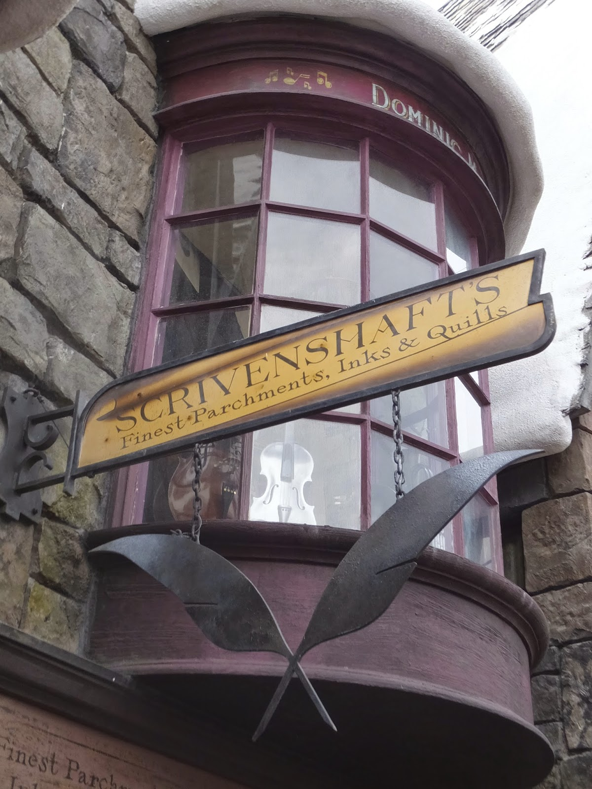 A Crafty Chick Diagon Alley Flourish Amp Blotts And