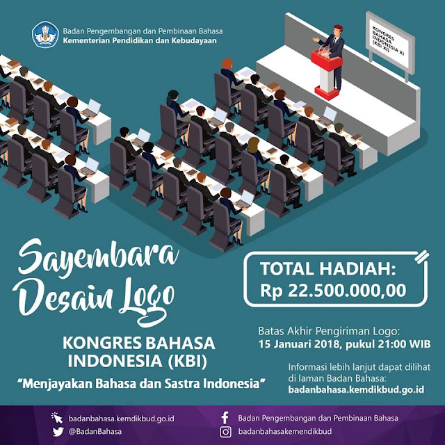 Sayembara Desain Logo Balai Bahasa Tahun 2017
