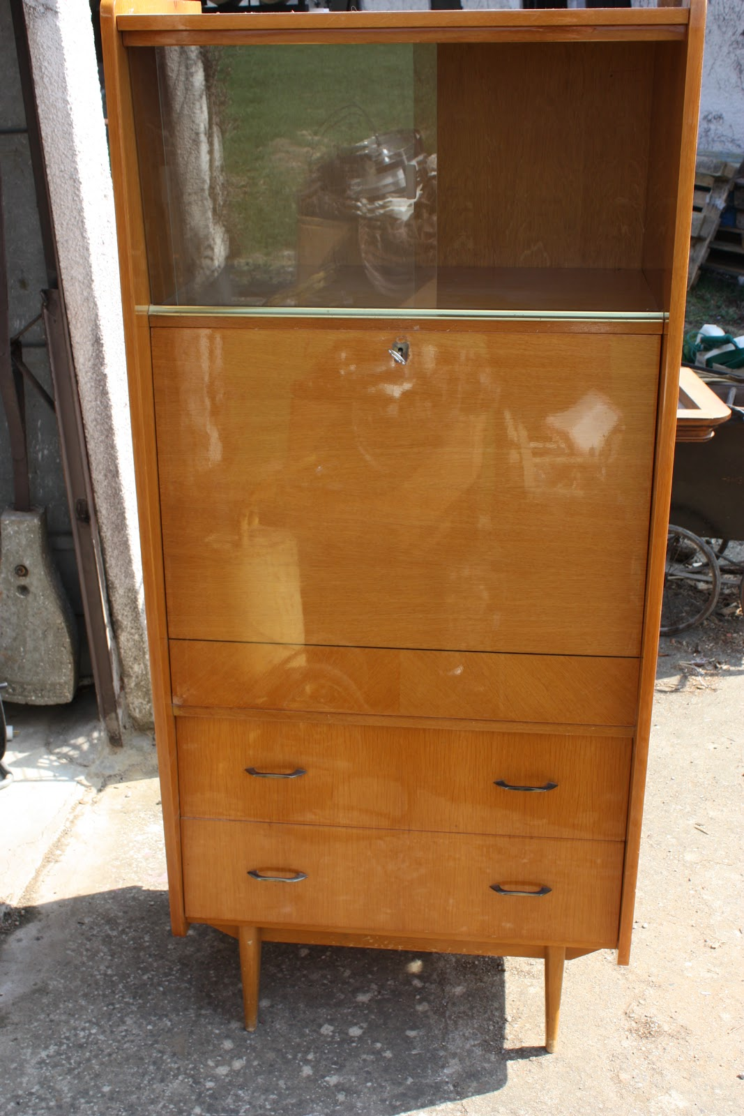 Meuble Année 70 Occasion Troc And Broc Secretaire Annee 60 70