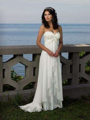 Vestidos de novia sencillos