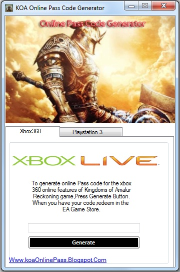 Kingdoms Of Amalur Reckoning Online Pass Free Giveaway