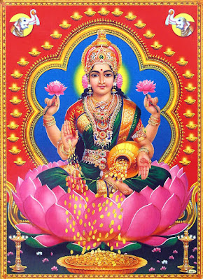 Goddess Varamahalakshmi Picture for Varalakshmi Vrata Festival