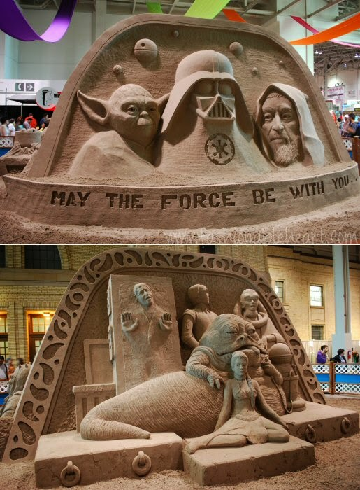 Star Wars sandcastle 2014 Toronto CNE