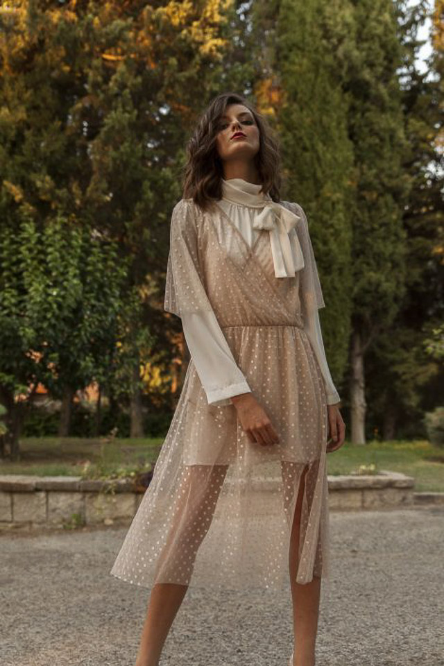 boda blog invitada vestido mono otoño invierno wedding guest look fashion