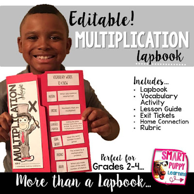 https://www.teacherspayteachers.com/Product/Multiplication-EDITABLE-Math-Lapbook-MORE-2707836