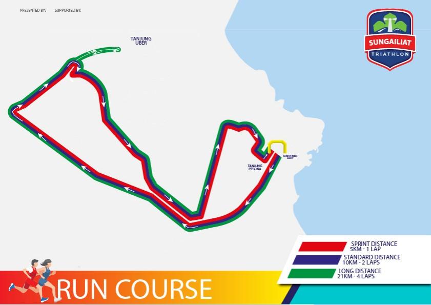 Sungailiat Triathlon Run • 2019