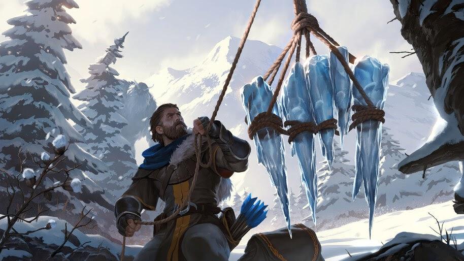 Avarosan Trapper, Legends of Runeterra, 4K, #3.1715