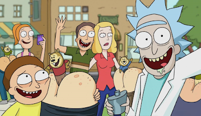 Rick, morty y familia