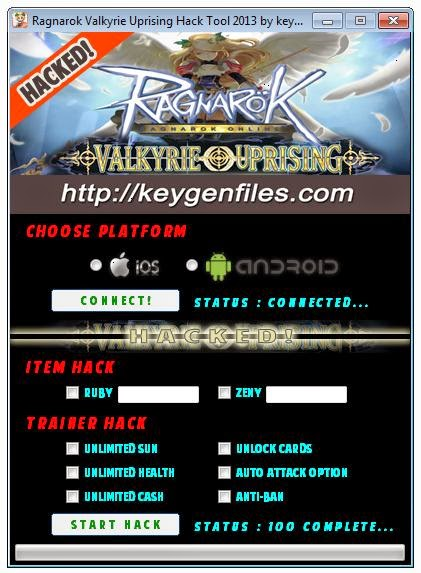 Hacks and Cheats for Your Games & Programs: Ragnarok Valkyrie
