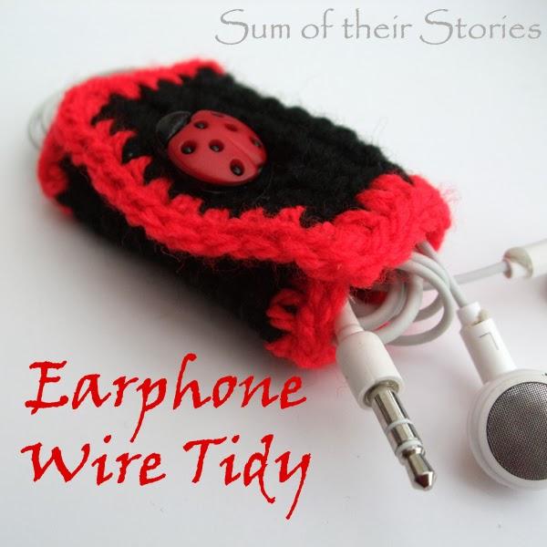 Earphone Wire Tidy
