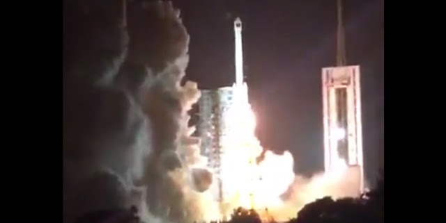 Long March 3B launch with the Zhongxing-9A satellite – Photo via Chinaspaceflight.com