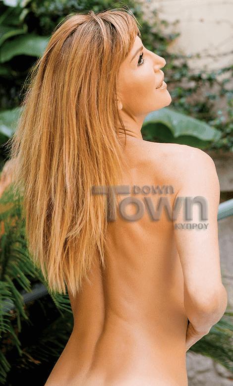 Βίκυ Χατζηβασιλείου, Sexy Φωτογράφηση, Down Town 4