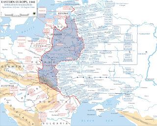 Mapa de la Operación Bagration