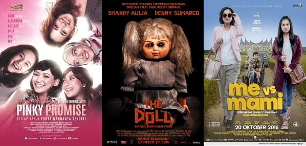 6 Daftar Film Indonesia Rilis Tayang Bulan Oktober 2016
