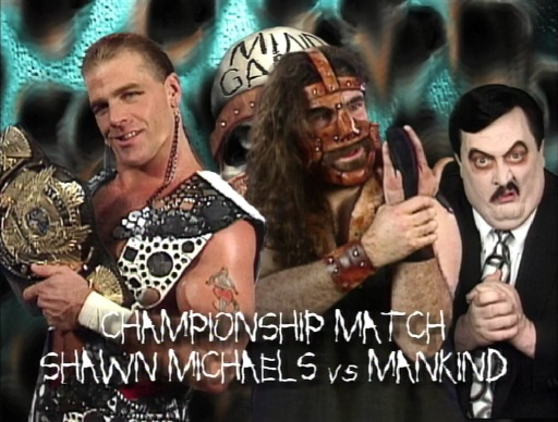 Shawn Michaels vs Mankind at In Your House: Mind Games - Top 10 Best Ever In Your House matches